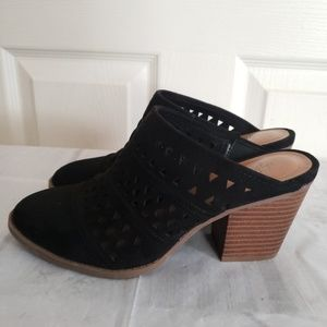 Style & Co. Black Mules Size 7.5